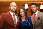 Kenny Burns, Malikha Mallette, Fonzworth Bentley